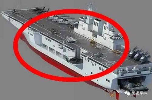 美称中国新巨舰开工载机仅次航母 被美视为最大威胁